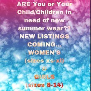 👙👗WOMEN'S & GIRLS Summer Wear